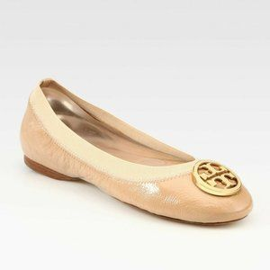 LIKE NEW Tory Burch Caroline Flats Nude